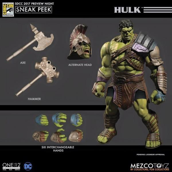 Mezco One:12 Collective Thor Ragnarok & Hulk
