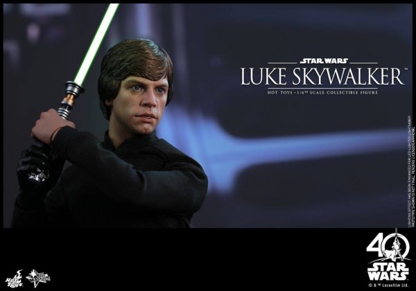 Star Wars: ROTJ - 1/6th Luke Skywalker Collectible Figure. hot toys