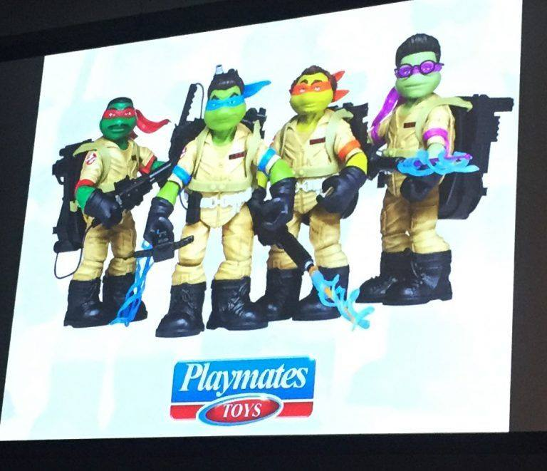 SDCC 2017 Teenage Mutant Ninja Turtles - Playmates