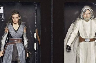 Star Wars The Last Jedi : Luke et Rey Black Series 6 en exclu au SDCC